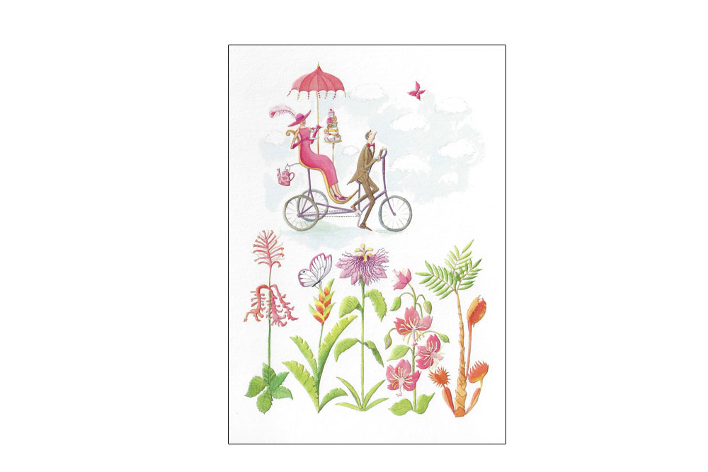 Beautiful Moments in Time Bicycle Greeting Card