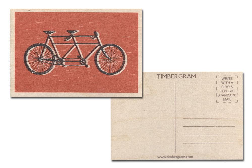Tandem Timbergram Card