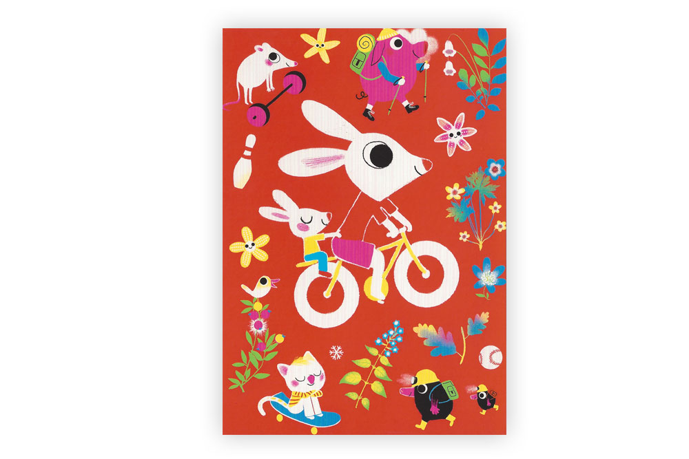 Children's Bicycle Greeting Card