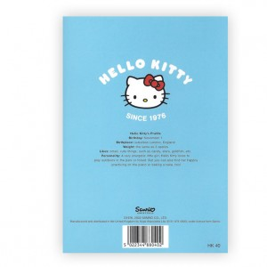 Hello Kitty Bicycle Greeting Card