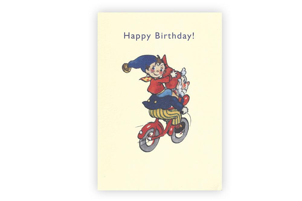 Noddy Happy Birthday Greeting Card Cyclemiles