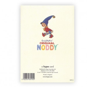 Noddy Happy 5 Birthday Greeting Card