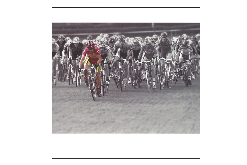 Cyclocross Bicycle Greeting Card