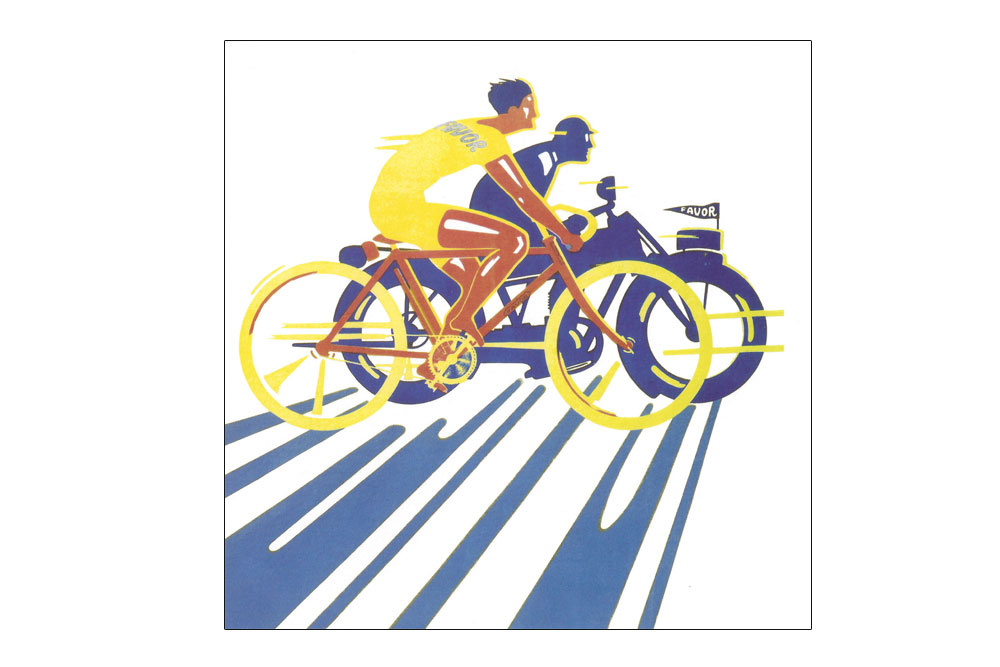 Favor Cycles Greeting Card
