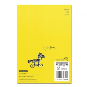 Happy 2nd Birthday Bicycle Greeting Card