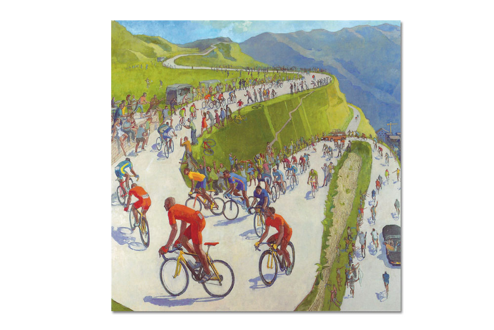 King of the Hill Bicycle Birthday Card – Toby Ward