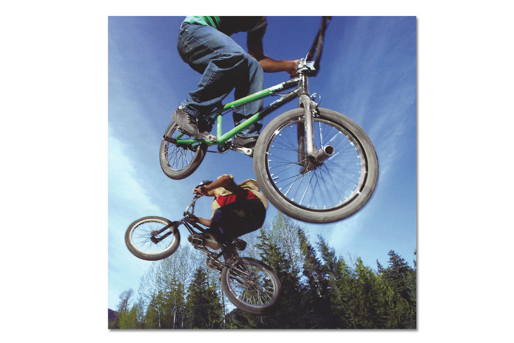happy birthday bmx bicycle birthday card cyclemiles