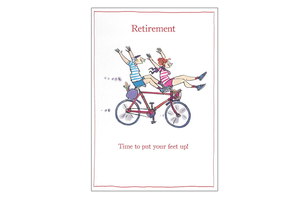 """Retirement Schedule"""" Funny Gifts Card Images - Frompo"""