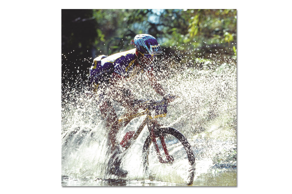 top gear mountain bike greeting card cyclemiles