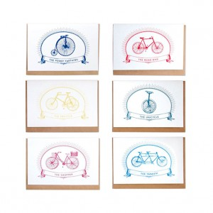 Chase and Wonder Bicycle Card Set