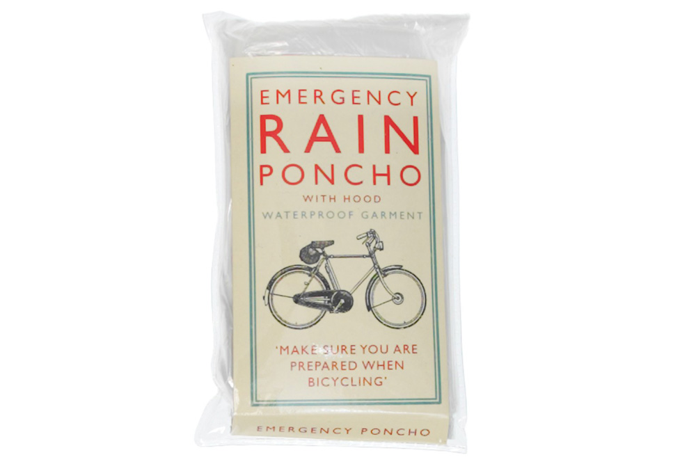 Bicycle Riders Emergency Rain Poncho