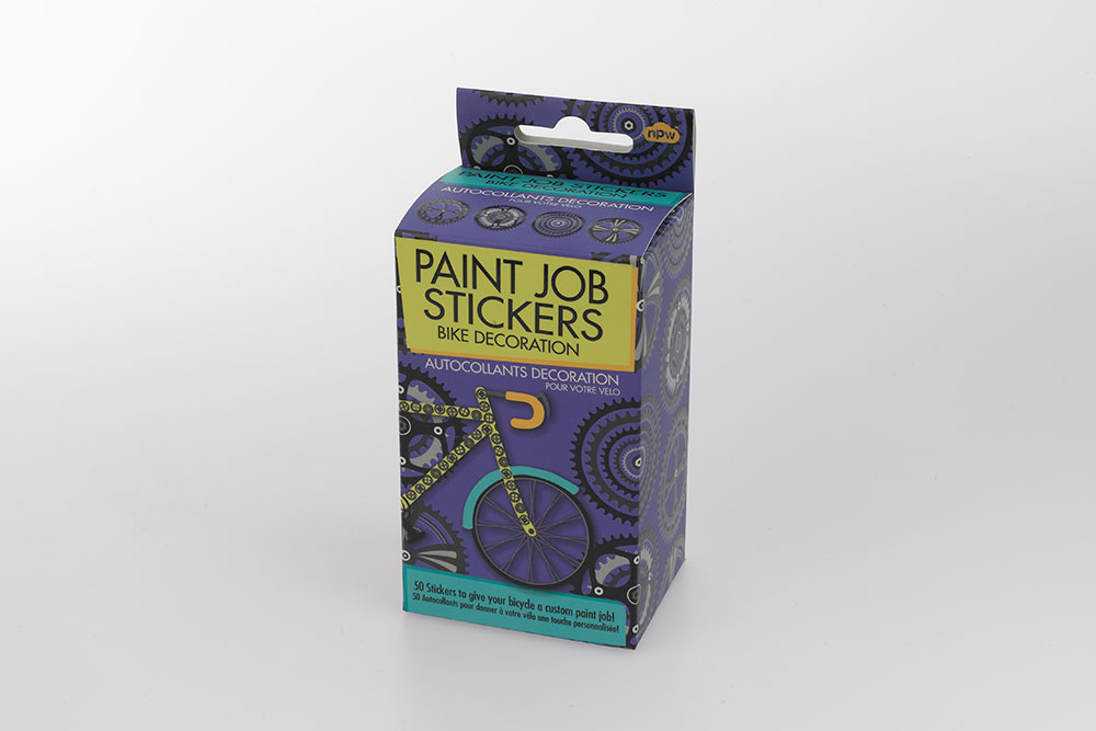 Bicycle Paint Job Stickers – Gears