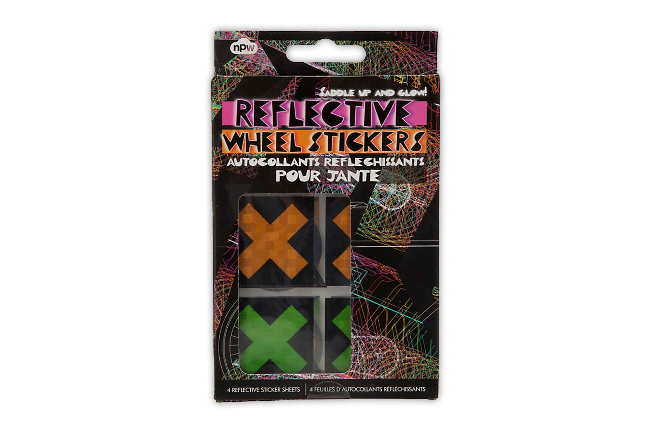 Reflective Bicycle Wheel Stickers
