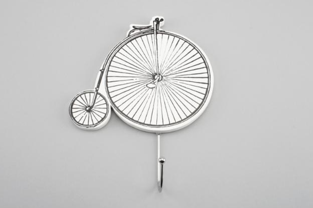 Penny Farthing Bicycle Wall Hook