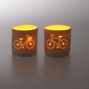 Luna Mini Shopper Bicycle Tealight