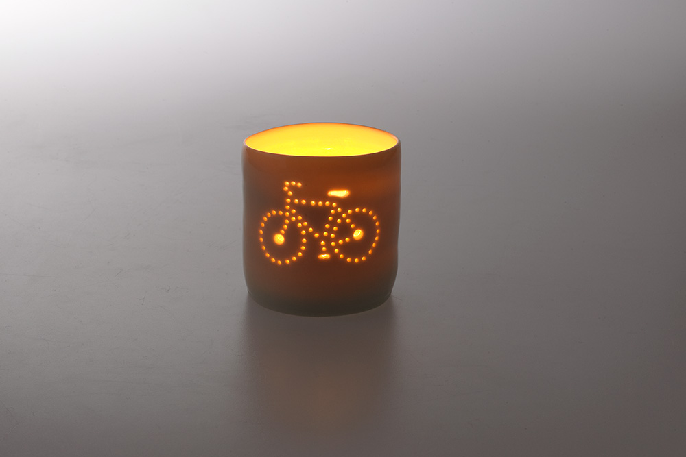 Luna Mini City Bicycle Tealight