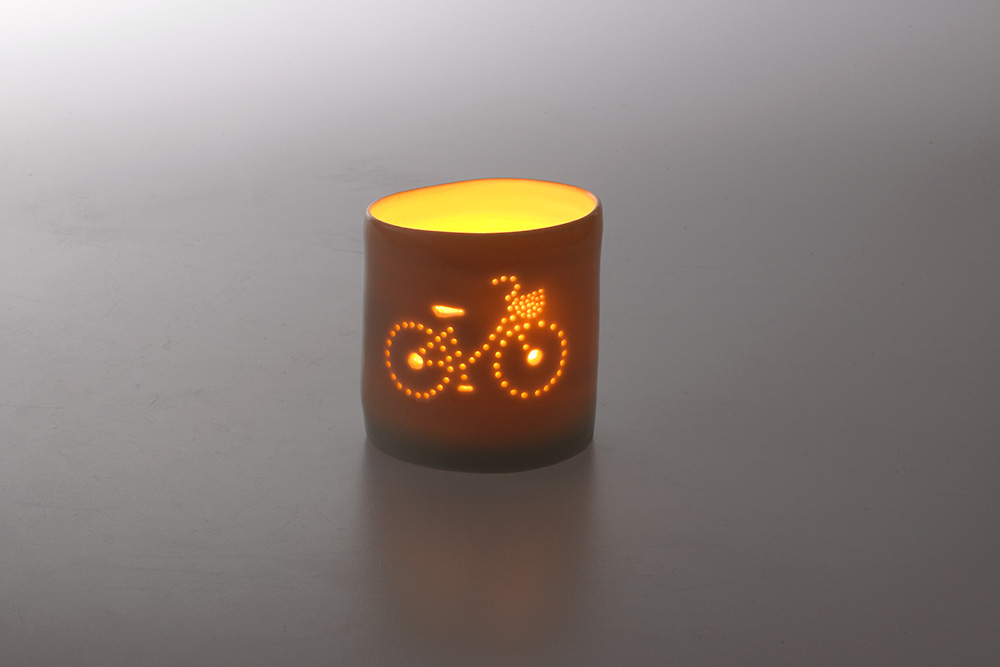 Girl's Bicycle Tea Light