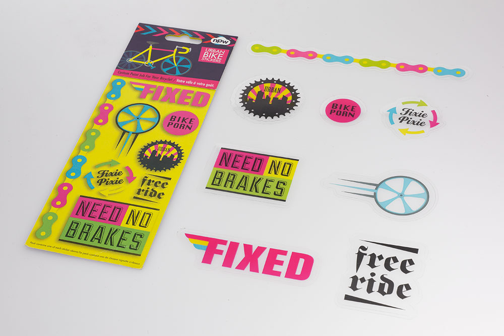 Urban Bicycle Stickers