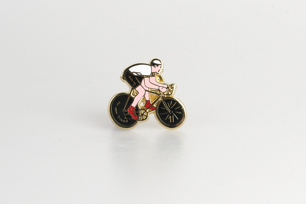 Tour de France White Jersey Bicycle Badge / Pin