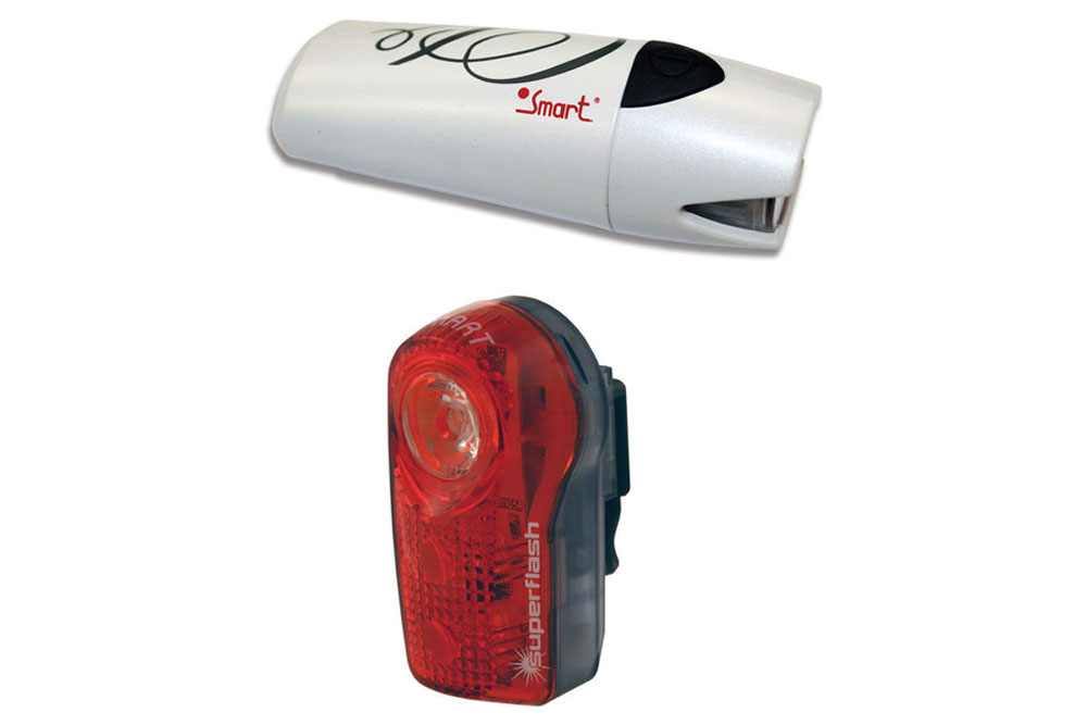 Smart Lunar 25 Front and Rear Bicycle Light Set
