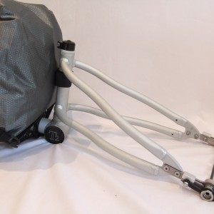 T2 single wheel bicycle trailer