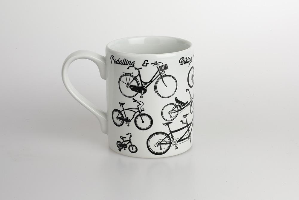 All Kinds of Cycling Bicycle Mug