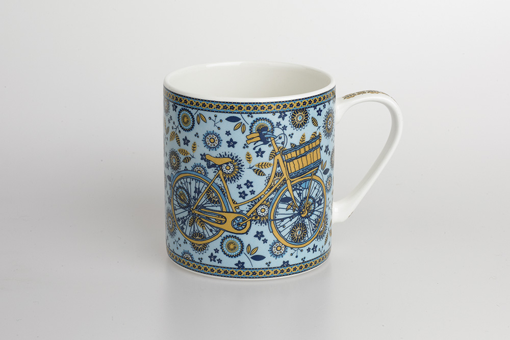 Women's Bicycle Mug – Blue Story