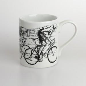 Sprint Finish Bicycle Mug