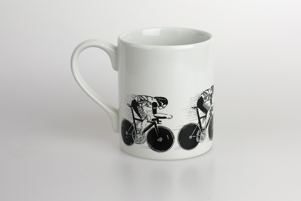 Hot Pursuit Bicycle Mug
