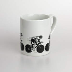 Hot Pursuit Bicycle Mug