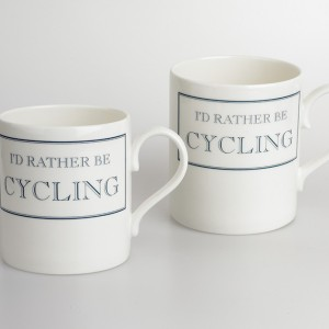 I'd Rather Be Cycling Bicycle Mug