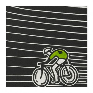 Ahoy There! Velodrome II Cycling Print by Hugh Ribbans