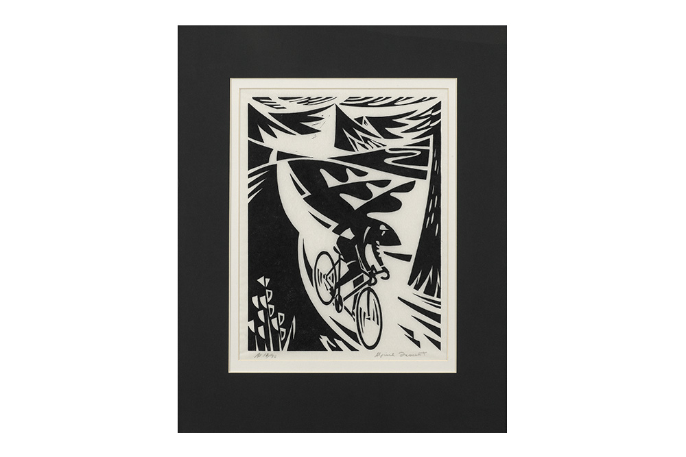Alpine Descent Cycling Print – Andrew Pavitt