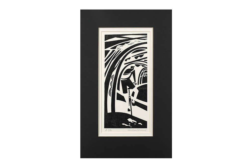 Shadow Dancer Cycling Print by Andrew Pavitt