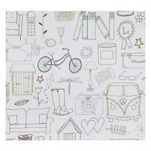 Cycle Touring Wrapping Paper