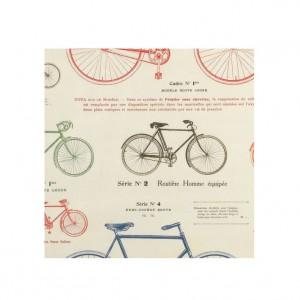 Les Bicyclettes Poster Paper